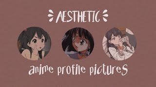 ☽ 45 aesthetic anime profile pictures ☾