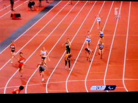 Womens 4x100 T38 relay final London 2012