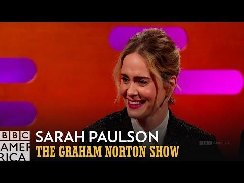 Sarah Paulson Is Okay With A Single Hole  The Graham Norton Show  BBC America