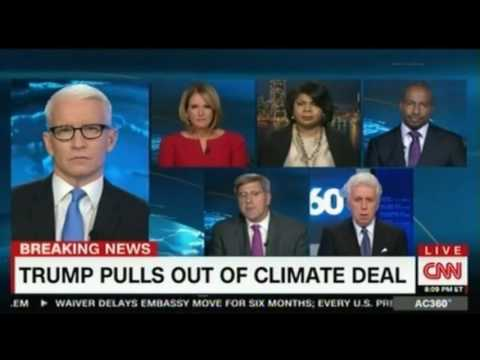 Anderson Cooper Trump Pulls out of Climate Deal CNN Panel discussion