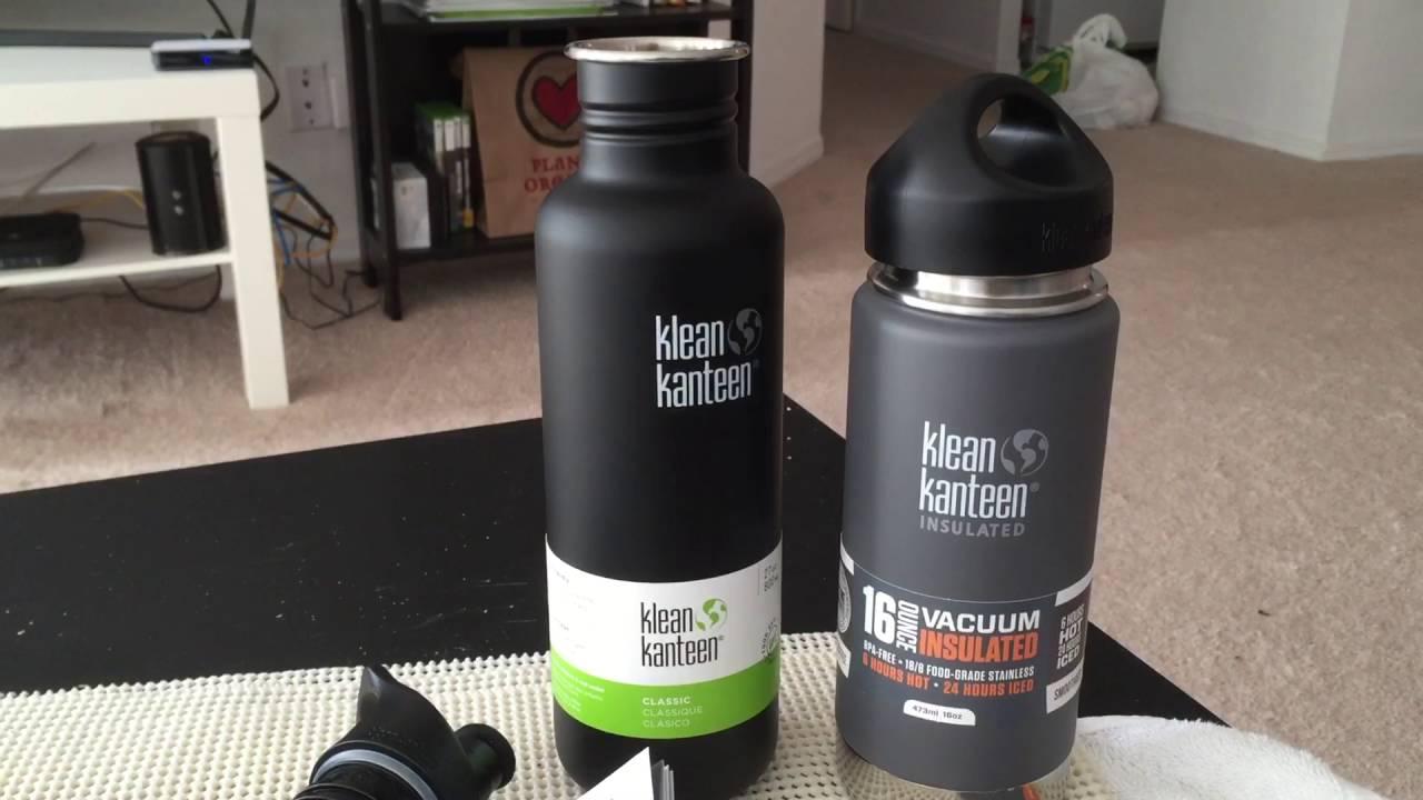 Klean Kanteen 27oz with Sport Cap Stainless