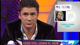 Vadim Tudor vs  Luis Lazarus   Antena2. 11 sep.  2013