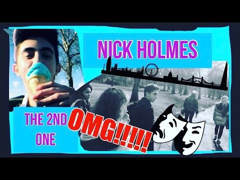 FIRST TIME Acting in London | Vlog 2 | Life of an Actor! | Nick Holmes