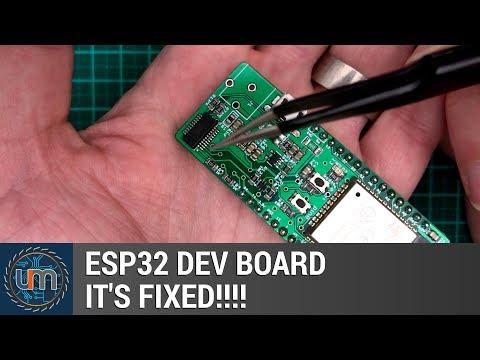 My ESP32 Dev Board is Fixed! - YouTube