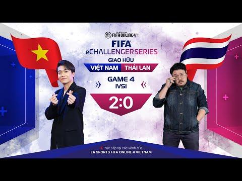 """Cris Phan thể hiện kỹ năng FO4 """"khủng"""" trong màn solo với KSN - FIFA eChallenger VN vs TH - Game 4"""