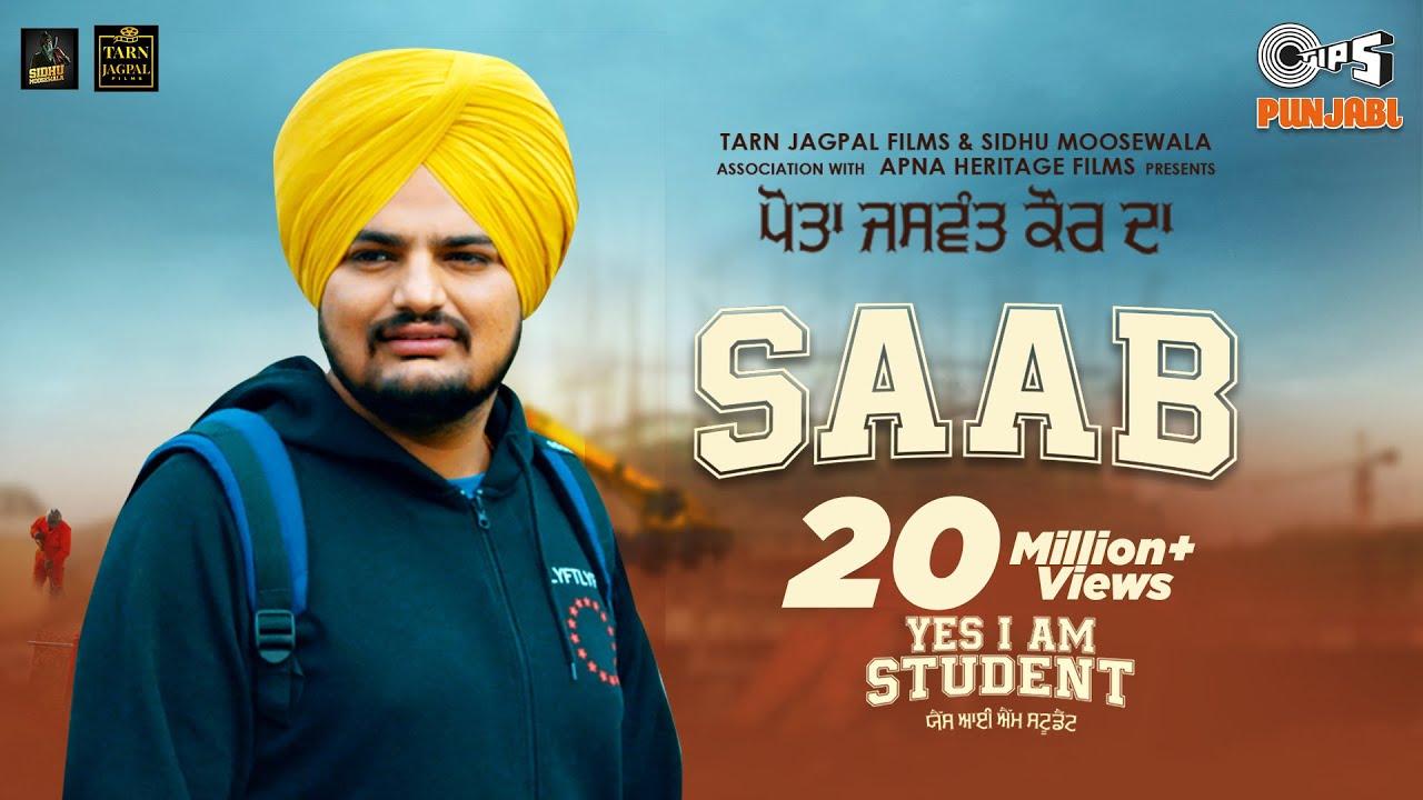 Download SAAB | Yes I Am Student | Sidhu Moose Wala, Gurtaj | Mandy Takhar | Tarnvir Jagpal | 22 October
