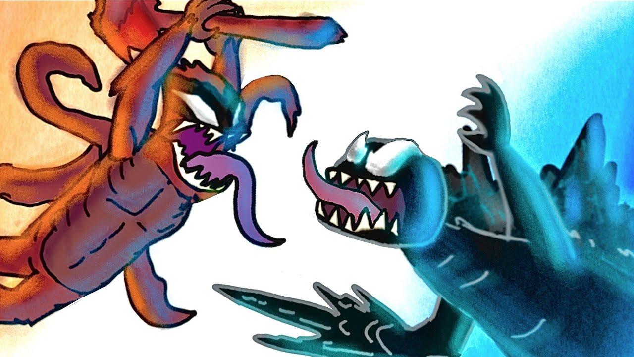 Download VENOM-ZILLA vs KING-CARNAGE!!! (Godzilla vs Monkey Venom *SPECIAL*)