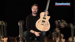 Taylor Guitars T3 Series Electric Guitar Demo - Sweetwater Sound