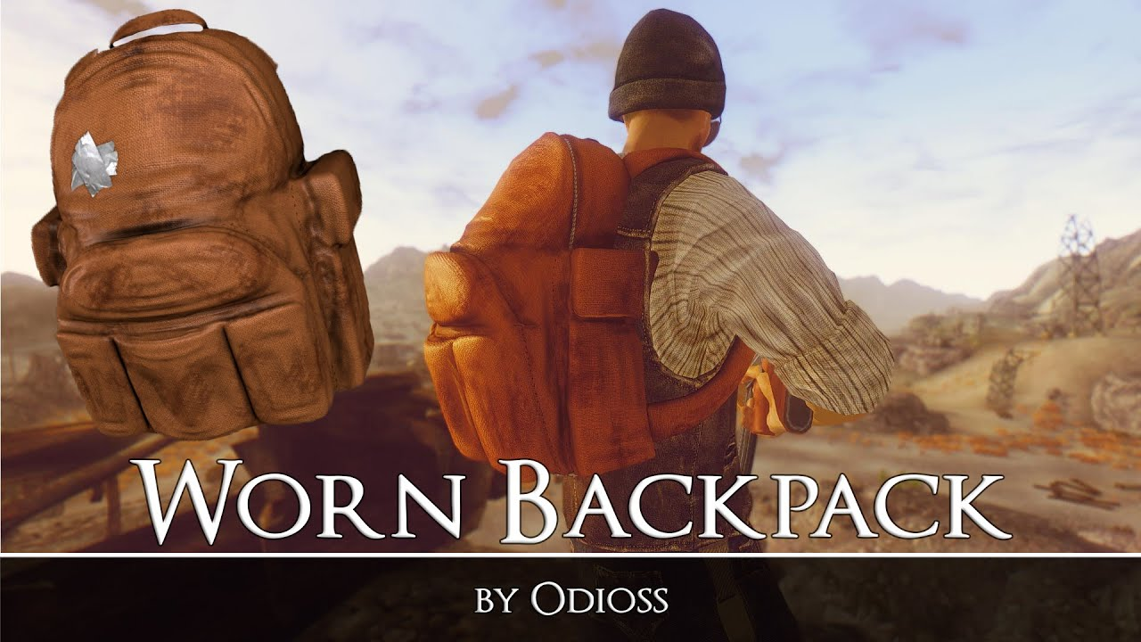 Моды fallout new vegas рюкзаки замшевый рюкзак блюз
