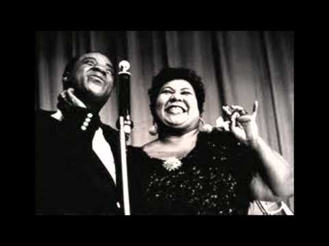 Louis Armstrong and Velma Middleton -