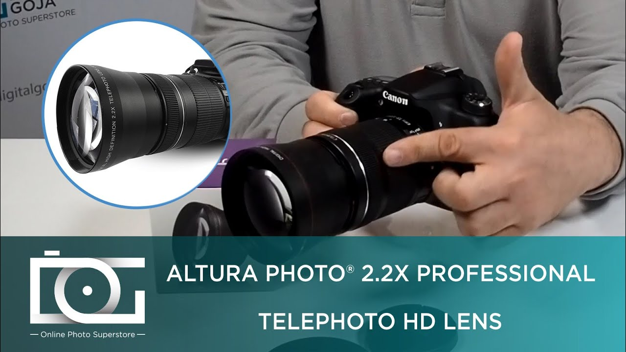 Tutorial 22x Professional Telephoto Hd Lens Adapter For Nikon