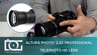 Підручник | 2.2 X професійний телеоб'єктив HD об'єктив адаптер для камер Nikon і Canon