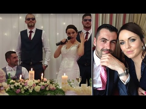 Bride Surprises Groom During Wedding With Ice Baby Parody Song