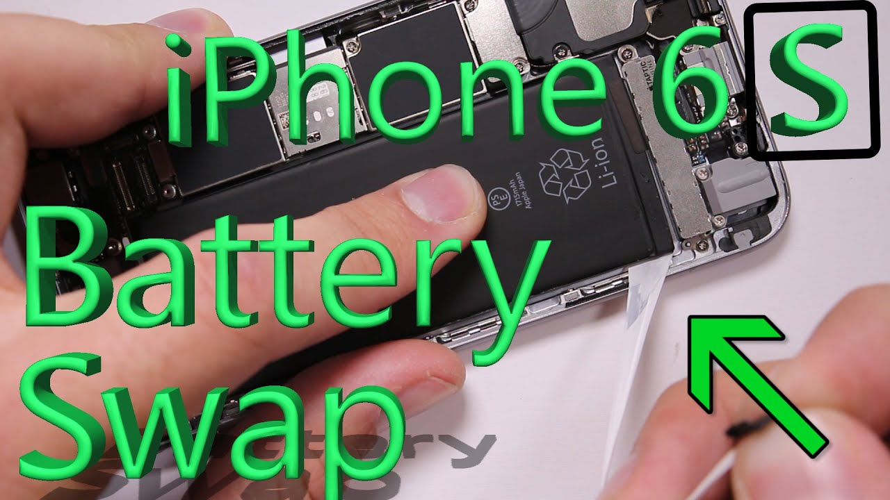 Iphone 6s Battery Replacement In 3 Minutes Easy Method Youtube