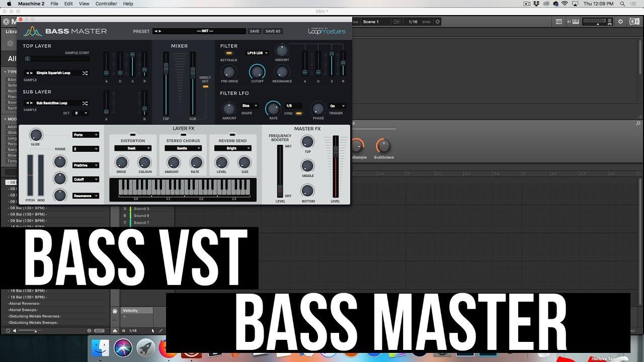 Loopmasters Bass Master VST Plugin Free Download
