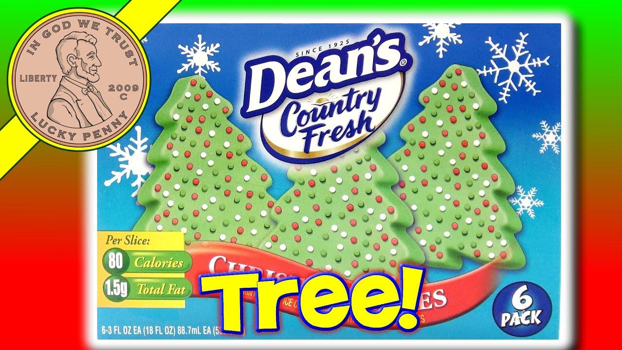 Deans Country Fresh Christmas Tree Ice Cream Treats, Tasty ...