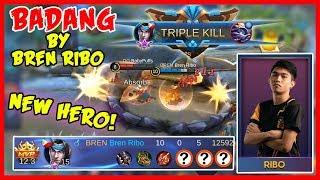 Badang! Ang Bagong Hero na Mabilis Sumuntok! Gameplay by Bren Ribo - Mobile Legends