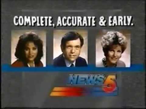 KPHO-TV News 5 Promo, 1990