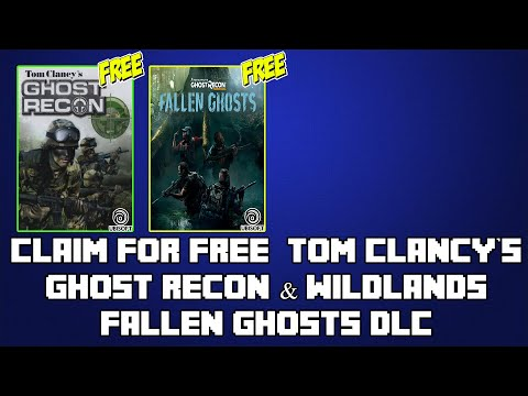 Claim For FREE: Tom Clancy's Ghost Recon PC Game & Wildlands Fallen Ghosts DLC on Ubisoft😱 thumbnail