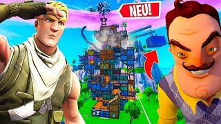 HELLO NEIGHBOR spielen in FORTNITE!