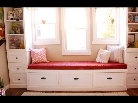 25 Inspirational Window Seat Design Ideas - YouTube
