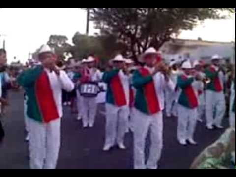 banda marcial birajara tocando as panteras Travel Video
