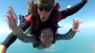 澳洲凱恩斯高空跳傘12000英呎