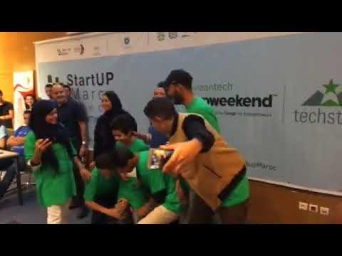 StartUp Weekend Rabat | 2ème Prix  | Forest Guard team