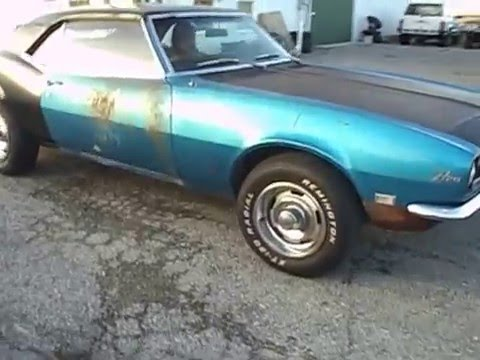 1968 CAMARO Z28 302 4 SPEED FOR SALE AT 500 CLASSIC AUTO  YouTube