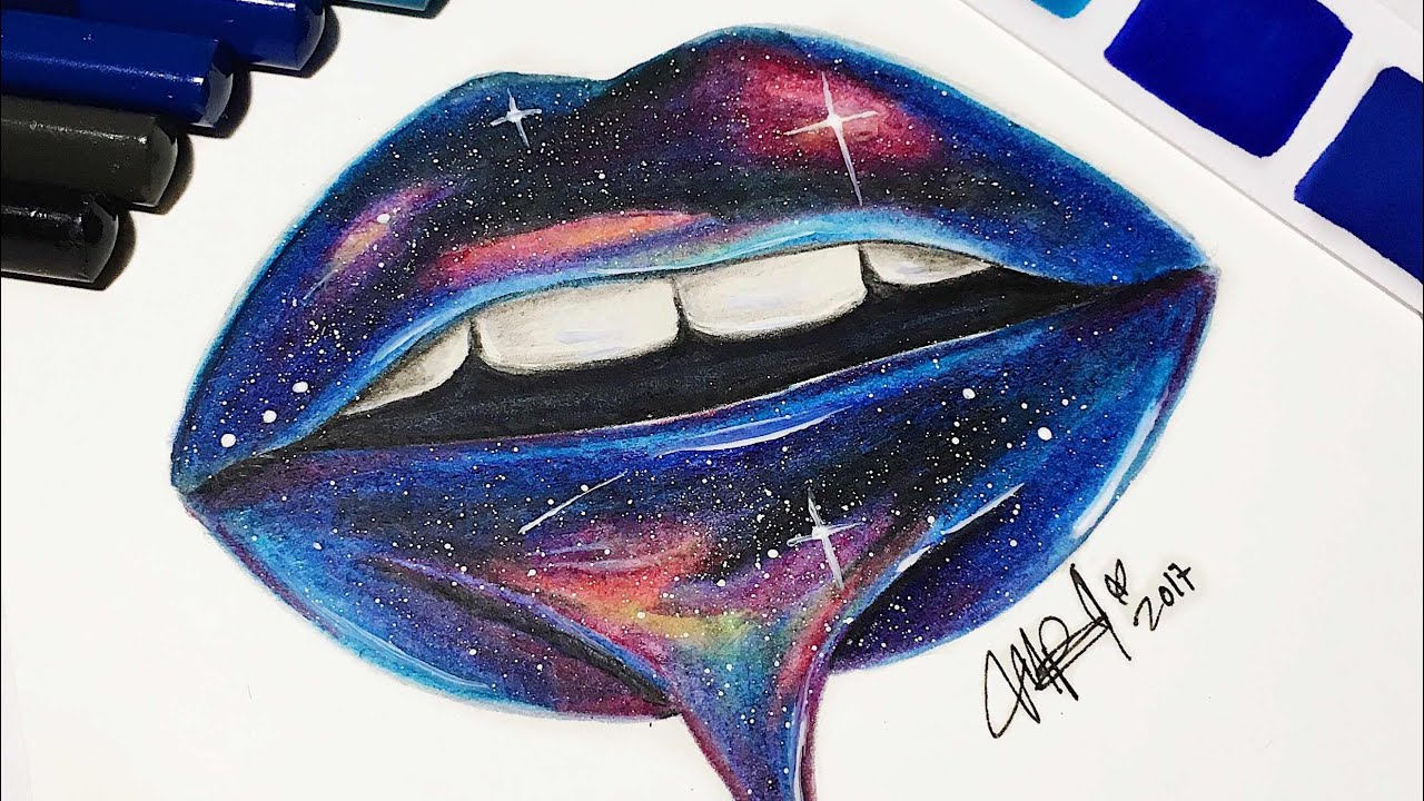 Labios De Universo Tumblr Con Colores Acuarelables Los Tutos