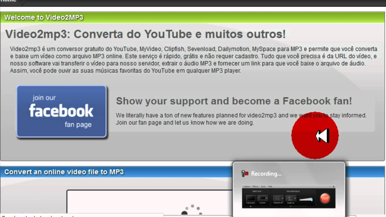 musica da youtube video2mp3