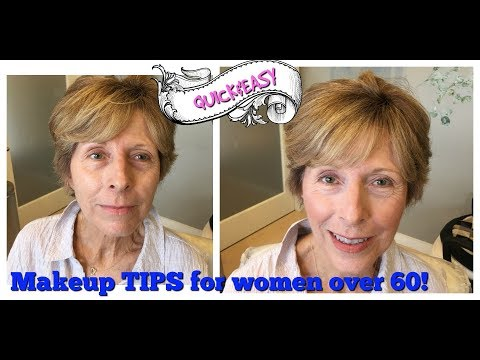 BEST QUICK MAKEUP MATURE SKIN 50 OVER