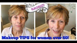 BEST MAKEUP TIPS FOR WOMEN OVER 60