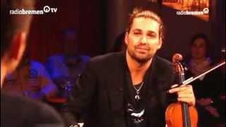 David Garrett - Violinist  Interview Radio Bremen TV.