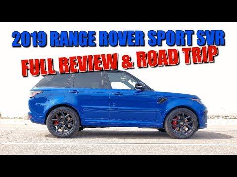 575 HP 2019 RANGE ROVER SPORT SVR - FULL REVIEW & ROAD TRIP