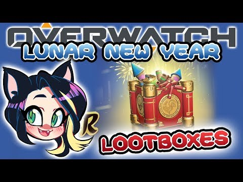 OVERWATCH LUNAR NEW YEAR LOOTBOX OPENING! - Kitty Kat Gaming