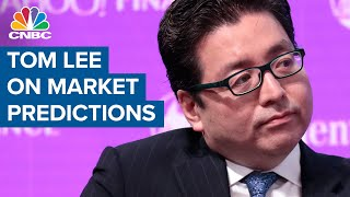 Tom Lee predicts market will see a strong September, but warns about October