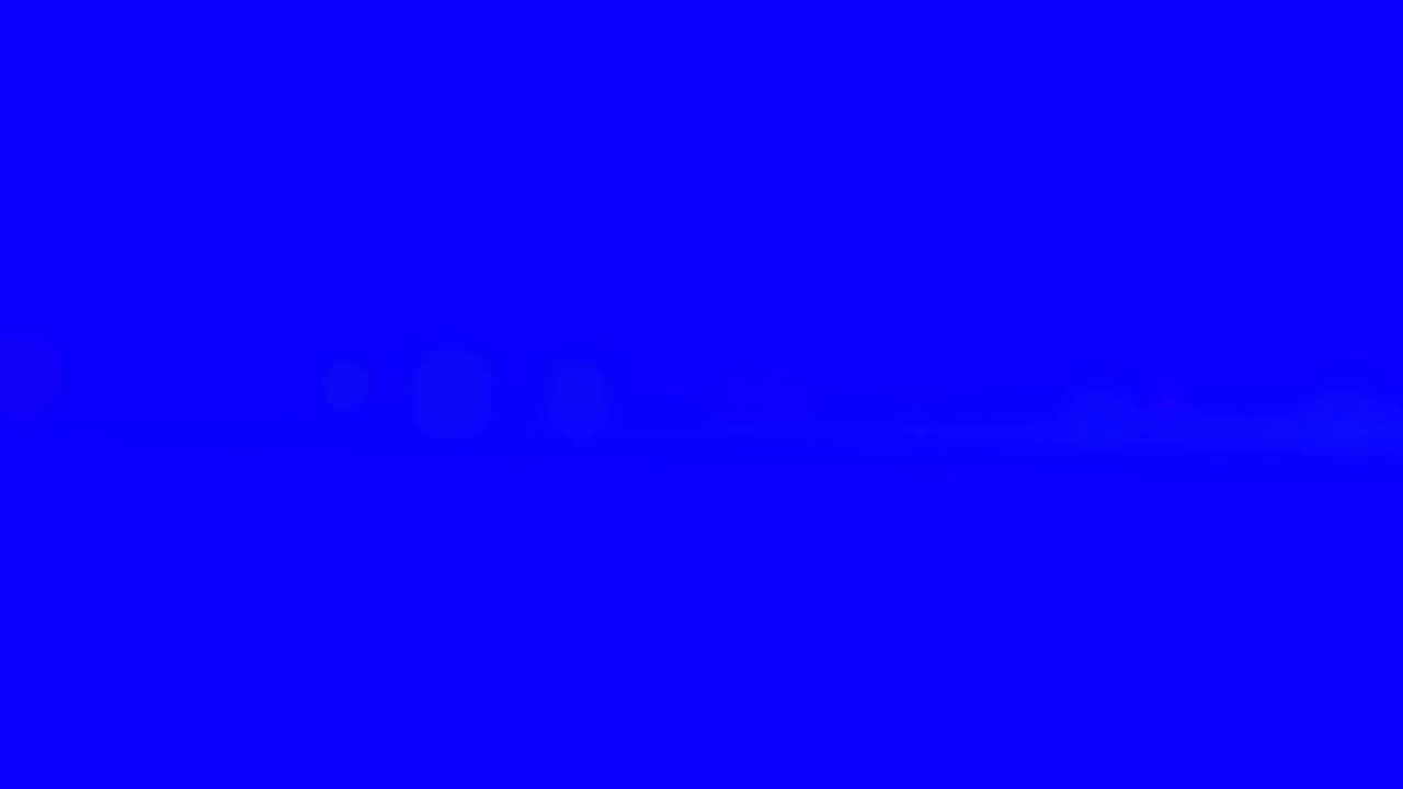 Light In Blue Screen Free Stock Footage Youtube