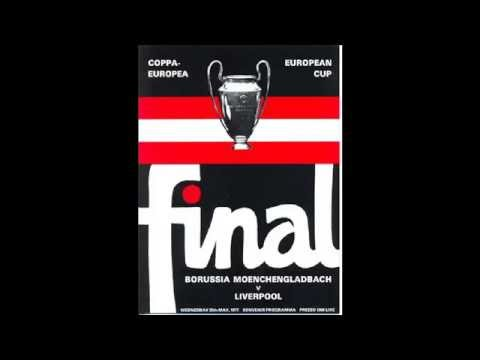euro cup final 77 radio commentary Liverpool FC