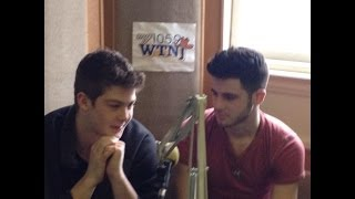 Zach Beeken & Colton Pack (Restless Road) on 105.9 WTNJ (10/01/2014)