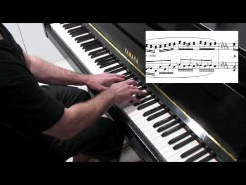 Chopin Etude Op.25 No.6  Tutorial - Paul Barton, piano