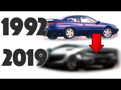 1992 Subaru SVX Re-design - What if it came back TODAY???