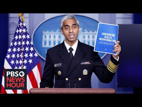 News Wrap: U.S. Surgeon General warns against vaccine misinformation on social media