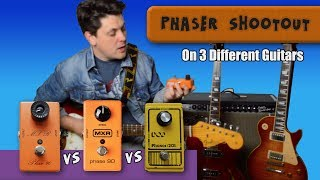 Phaser Shootout: MXR Phase 90 script Vs Block Vs DOD 201