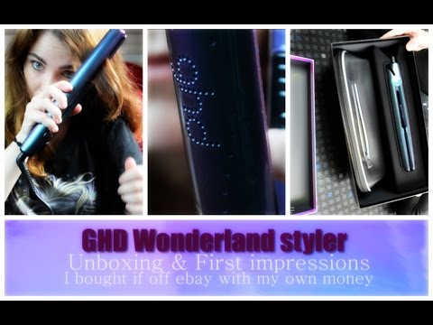GHD Wonderland | Unboxing & First Impressions