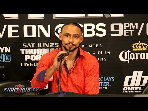 The Keith Thurman vs. Shawn Porter COMPLETE POST FIGHT PRESS CONFERENCE Video