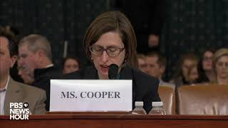 WATCH: Ukrainians 'likely knew' about hold on U.S. aid, Cooper testifies