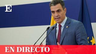 DIRECTO | PEDRO SÁNCHEZ clausura el seminario 'Seguimiento de la recuperación: más allá del PIB'