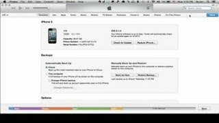 How to Erase an iPhone Through iTunes : iPhone Tips