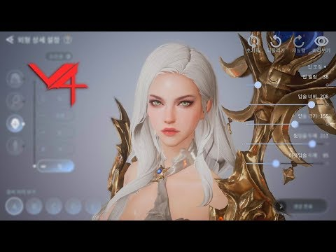 V4 Mobile - Open Beta Character Creation All Class ShowCase Gameplay - RPG Android/iOS